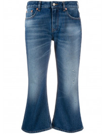 Mm6 Maison Margiela Flared Jeans - Blauw afbeelding