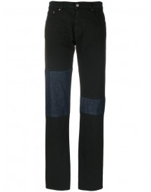Mm6 Maison Margiela - Knee Patch Jeans - Women - Cotton/polyester/spandex/elastane - 42 afbeelding
