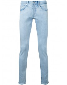 Monkey Time - Slim Stonewashed Jeans - Men - Cotton - L afbeelding