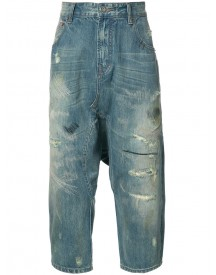 Mostly Heard Rarely Seen - Cropped Jeans - Men - Cotton - 36 afbeelding
