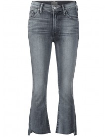 Mother - Cropped Flared Jeans - Women - Cotton/polyester/spandex/elastane - 24 afbeelding