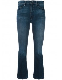 Mother - The Insider Crop Jeans - Women - Cotton/polyester/spandex/elastane - 27 afbeelding