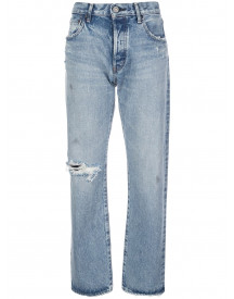 Moussy Vintage Straight Jeans - Blauw afbeelding