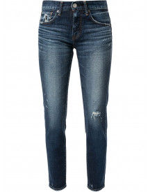 Moussy Vintage Timpson Skinny Jeans - Blauw afbeelding