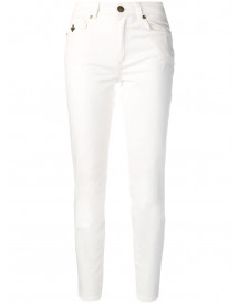 Mr & Mrs Italy Cropped Jeans - Wit afbeelding