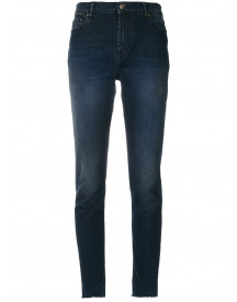 Mr & Mrs Italy Stonewashed Slim-fit Jeans - Blauw afbeelding