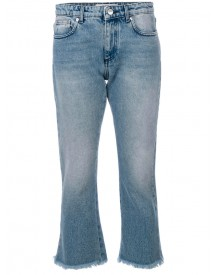 Msgm - Cropped Jeans - Women - Cotton - 44 afbeelding