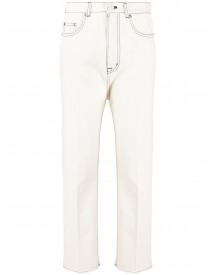 Nº21 Cropped Jeans - Nude afbeelding