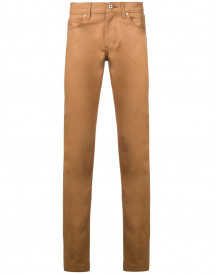 Naked And Famous Slim-fit Jeans - Bruin afbeelding