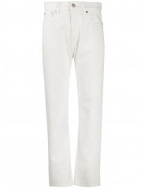 Nanushka Cropped Jeans - Wit afbeelding
