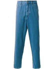 Natural Selection - Boxer Pinstripe Jeans - Men - Cotton - 36 afbeelding