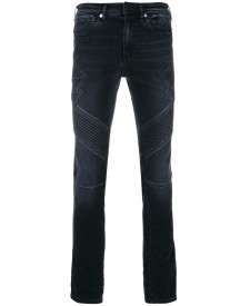Neil Barrett - Panelled Slin Fit Jeans - Men - Cotton/polyester - 33 afbeelding