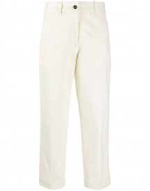 Nine In The Morning Cropped Trousers - Wit afbeelding