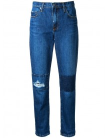 Nobody Denim - Bailey Jean Dk Patch - Women - Cotton - 24 afbeelding