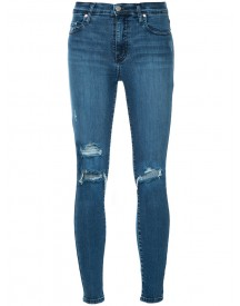Nobody Denim - Cult Skinny Ankle Intrigued Jeans - Women - Cotton/polyester/spandex/elastane - 25 afbeelding