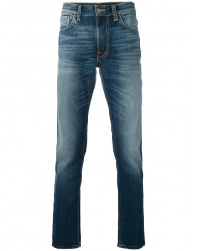 Nudie Jeans Co - Slim-fit Jeans - Men - Organic Cotton/spandex/elastane - 28 afbeelding