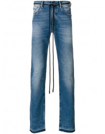 Off-white - Diag Skinny Jeans - Men - Cotton/polyester - 34 afbeelding