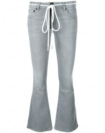 Off-white - Flared Jeans - Women - Cotton/polyester/spandex/elastane - 28 afbeelding