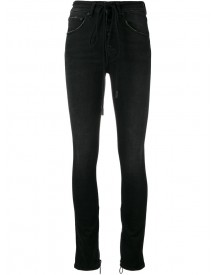Off-white - High Waisted Skinny Jeans - Women - Cotton/spandex/elastane - 28 afbeelding