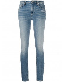 Off-white Skinny Jeans - Blauw afbeelding