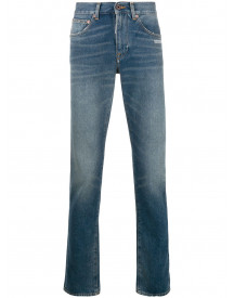 Off-white Slim-fit Jeans - Blauw afbeelding