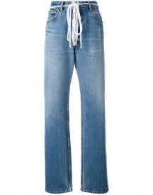 Off-white - Zip Detail Levi Jeans - Women - Cotton - 31 afbeelding