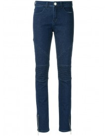 Olympiah - Denim (blue) Skinny Trousers - Women - Cotton - 42 afbeelding