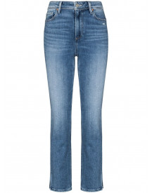Paige Cindy Cropped Jeans - Blauw afbeelding