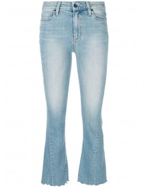 Paige - Cropped Bootcut Jeans - Women - Cotton/polyester/spandex/elastane - 26 afbeelding