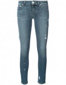 Paige - Distressed Skinny Jeans - Women - Cotton/spandex/elastane - 31 afbeelding