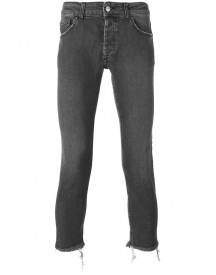 Palm Angels - Kill Cropped Jeans - Men - Cotton/polyester/spandex/elastane - 32 afbeelding