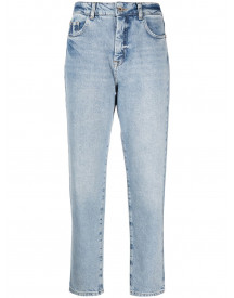 Patrizia Pepe Cropped Jeans - Blauw afbeelding