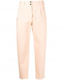 Patrizia Pepe Cropped Jeans - Roze afbeelding