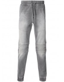 Philipp Plein - Biker Sweatpants - Men - Cotton/polyester/spandex/elastane - 31 afbeelding