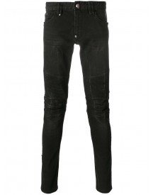 Philipp Plein - Jazz Slim-fit Jeans - Men - Cotton/polyester/spandex/elastane - 34 afbeelding