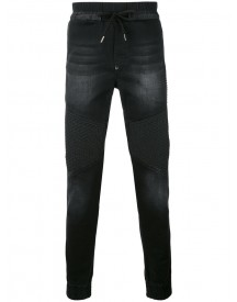 Philipp Plein - Washed Slim-fit Jeans - Men - Cotton/spandex/elastane/polyester/polyurethane - 30 afbeelding