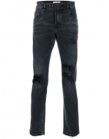 Pierre Balmain - Distressed Faded Jeans - Men - Cotton/spandex/elastane - 31 afbeelding