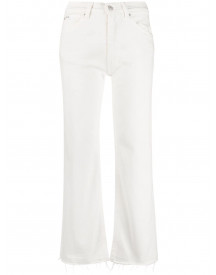 Polo Ralph Lauren Cropped Jeans - Wit afbeelding