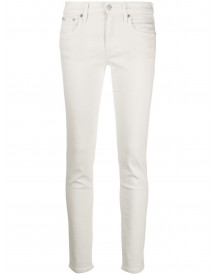 Polo Ralph Lauren Slim-fit Jeans - Wit afbeelding