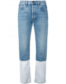 Ports 1961 - Bootcut Cropped Jeans - Women - Cotton - 28 afbeelding