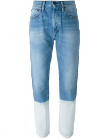 Ports 1961 - Colour Block Jeans - Women - Cotton - 29 afbeelding