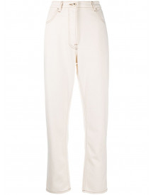 Ports 1961 High-waist Straight Jeans - Nude afbeelding