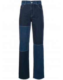 Pringle Of Scotland High Waist Jeans - Blauw afbeelding