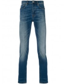 Ps By Paul Smith - Faded Straight-leg Jeans - Men - Cotton/polyester/polyurethane - 36/30 afbeelding