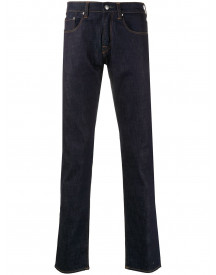 Ps Paul Smith Jeans Met Contrasterend Stiksel - Blauw afbeelding