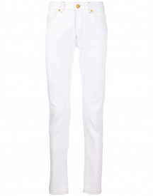 Pt01 Mid-rise Slim Fit Jeans - Wit afbeelding