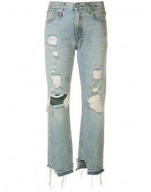 R13 - Bowie Jeans - Women - Cotton - 25 afbeelding