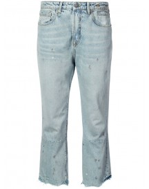 R13 - Cropped Jeans - Women - Cotton - 28 afbeelding