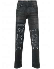 R13 - Distressed Skinny Jeans - Men - Cotton/polyester/spandex/elastane - 30 afbeelding