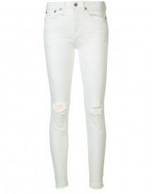 R13 - Distressed Skinny Jeans - Women - Cotton - 24 afbeelding
